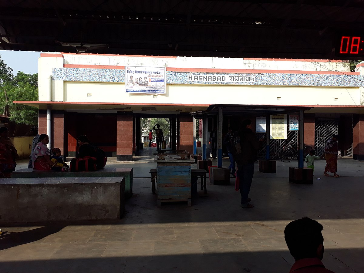 Hasnabad railway station - WikiVividly
