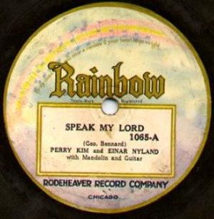 Rainbow Records - Image: Rainbow Record