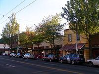 Rainier Avenue; Columbia City, Seattle.JPG