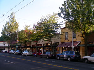 Columbia City, Seattle - Rainier Avenue in Columbia City