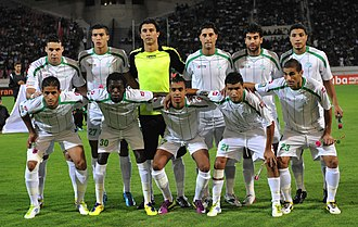 Raja Casablanca - Team of Raja in 2011 CAF Champions League.