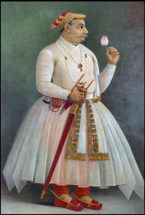 Raja Ravi Varma, Maharana Raj Singh - I