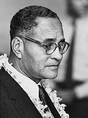 Ralph Bunche - Bunche at the 1963 March on Washington for Jobs and Freedom.