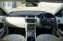 Range Rover Evoque Interier Japan.JPG