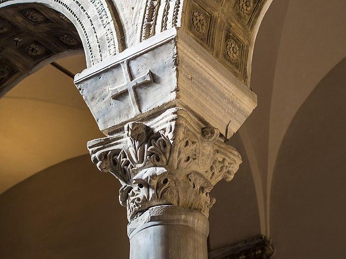 Ravenna Basilica of Sant'Apollinare Nuovo capitel