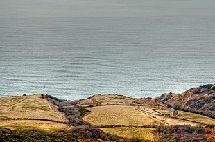 Ravenscar from above