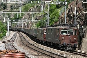 Bern–Lötschberg–Simplon railway - Image: Re 44 180