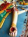 Reclining Draupadi, wife of the 5 Pandavas. Near Auroville.jpg