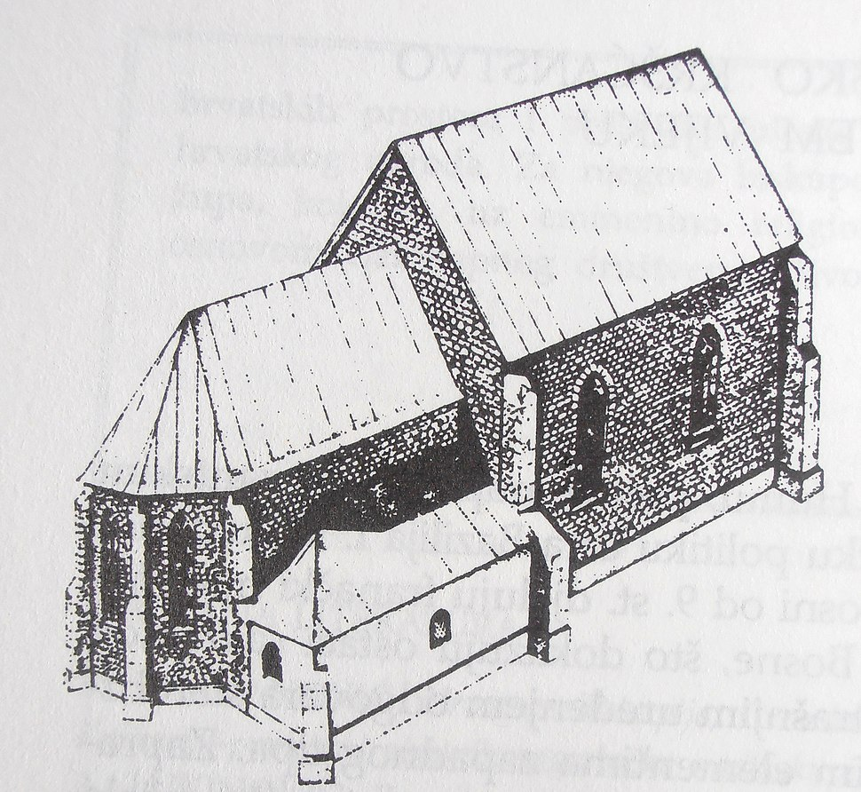 Reconstruction of church in Mile