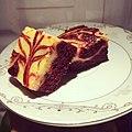 Red Velvet Cheesecake Swirl Brownies - Fatorda - Goa - IMG 20201229 134415 868.jpg