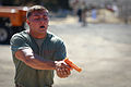 Red in the face, Marines endure pepper spray training 131001-M-XZ164-144.jpg
