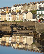 Reflections in the Long Hole, Bangor (geograph 1825908).jpg