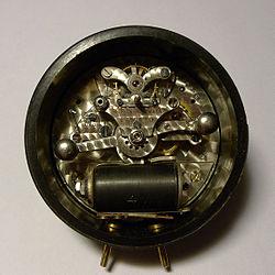Electromechanical Self Winding Clock Movement From Switzerland