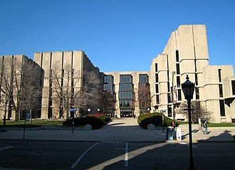 Walter Netsch - The Regenstein Library at the University of Chicago is one of Walter Netsch's designs.