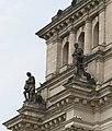 Reichstagsgebäude - Südansicht ( Links - Turm ).jpg
