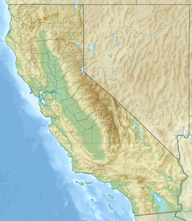 Map showing the location of Golden Gate National Recreation Area