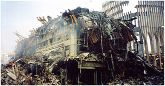 Marriott International - Marriott's hotel in New York after the collapse of the World Trade Center towers on 9/11