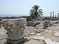 Remains of ancient columns at Al Mina excavation site, Tyre, Lebanon.jpg