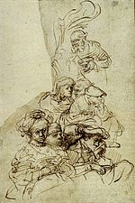 Rembrandt Groups of Listeners.jpg