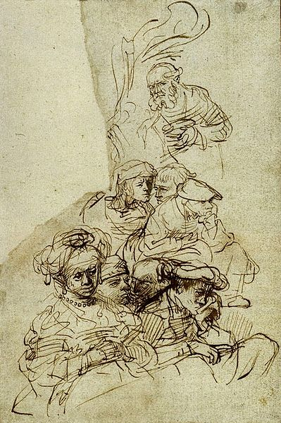 File:Rembrandt Groups of Listeners.jpg