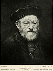 Bearded Old Man with a Cap