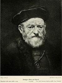 Rembrandt or follower - Bearded Old Man with a Cap.jpg