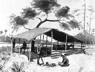 Florida cracker - A Bit of Cow Country, by Frederic Remington, published in Harper's Weekly magazine