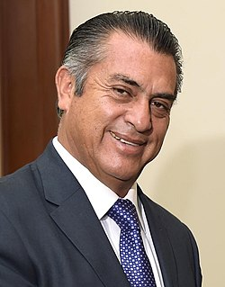 chief executive of the Mexican state of Nuevo León