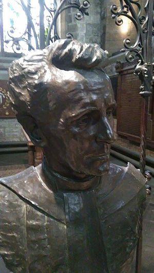 George Henry Paulin - Rev James Black by Harry Paulin, St Giles Cathedral, Edinburgh
