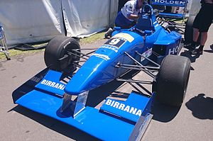 Simon Wills - Wills won the 1999 and 2000 Australian Drivers' Championships in a Reynard 94D, similar to the example pictured above