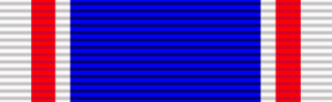 Ronald Brittain - Image: Ribbon King George VI Coronation Medal
