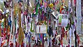 Ribbons on the Gates of the Cross Bones Graveyard.jpg