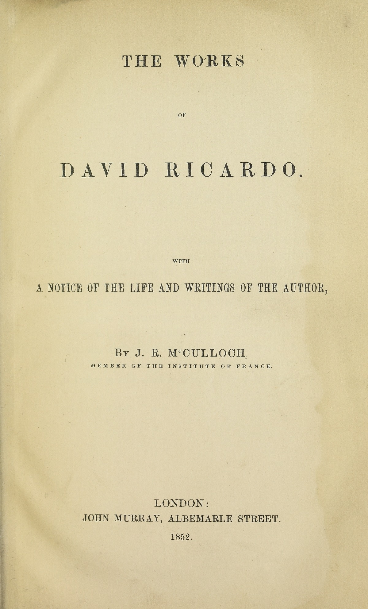 david ricardo law diminishing returns Transcript of economics: david ricardo david ricardo 1772 - 1823 born april 19, 1772 london (1815) speech became the law of diminishing returns 1817.