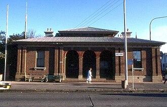 Richmond, New South Wales - Image: Richmond Court House, NSW