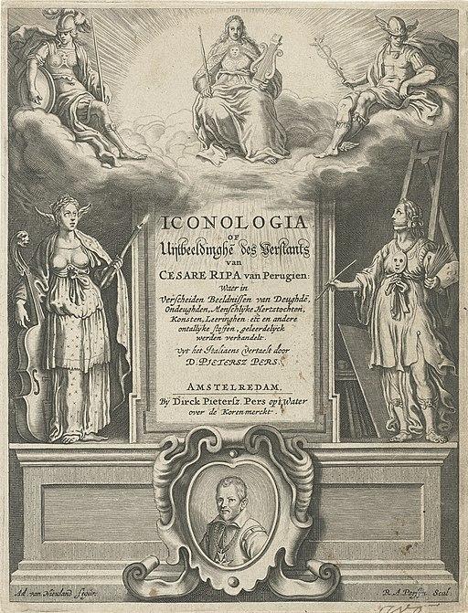 Rijksmuseum IIHIM RIJKS -1948766831 Iconologia, uitgever Dirck Pietersz Pers