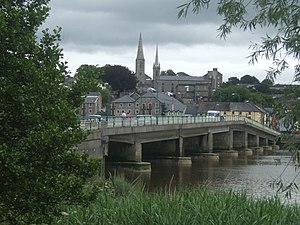 County Wexford - Bridge over the River Barrow at New Ross.