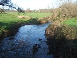 River Creedy from Creedy Bridge on A3072 - geograph.org.uk - 1617259.jpg