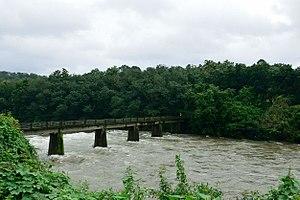Manimala River - Manimala river near Cheruvally
