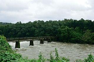 Manimala River river in India