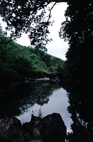 River Nith - The Nith near Carron Bridge.