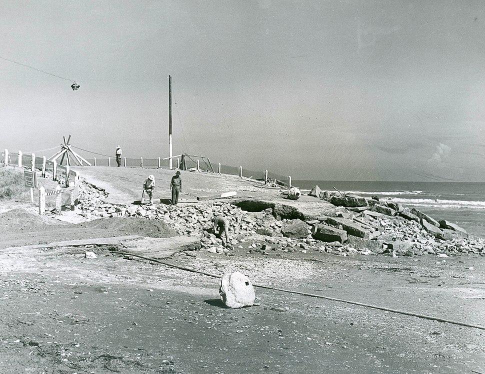 Road Repair Galveston 1941