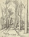 Robecq Old Mill and Bridge, November 1916 Art.IWMART4861.jpg