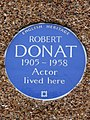 Robert Donat 1905 - 1958 actor lived here.jpg