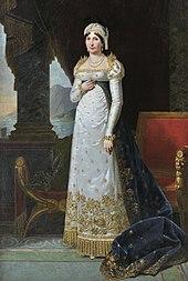 Letizia Buonaparte, die Mutter des Kaisers (Ölgemälde von Robert Lefèvre von 1813) (Quelle: Wikimedia)