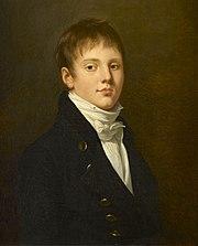 Portrait de Charles Angélique François Huchet, comte de La Bédoyère (1786-1815), Robert Lefèvre, 1803, Musée national du Château de Malmaison