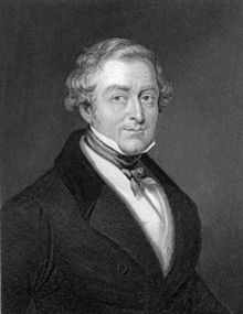 Portrait de Robert Peel