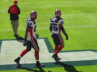 Robert Royal - Royal (left) with Angelo Crowell in 2006
