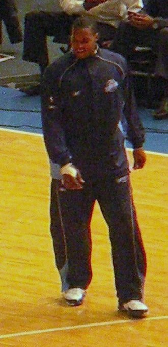 Robert Whaley - Whaley with the Jazz in December 2005