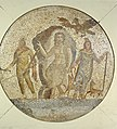 Roman - Fragment of a Mosaic with Mithras - Walters 437.jpg