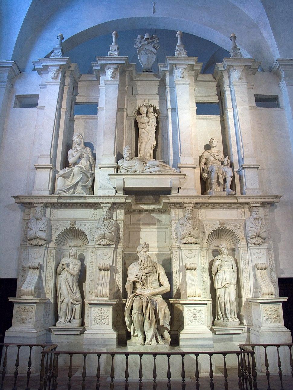 Rome-Basilique San Pietro in Vincoli-Moise MichelAnge.jpg